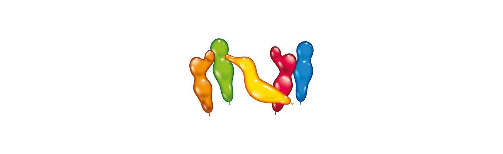 Karaloon Figurenballons , 75 Stück im Eimer