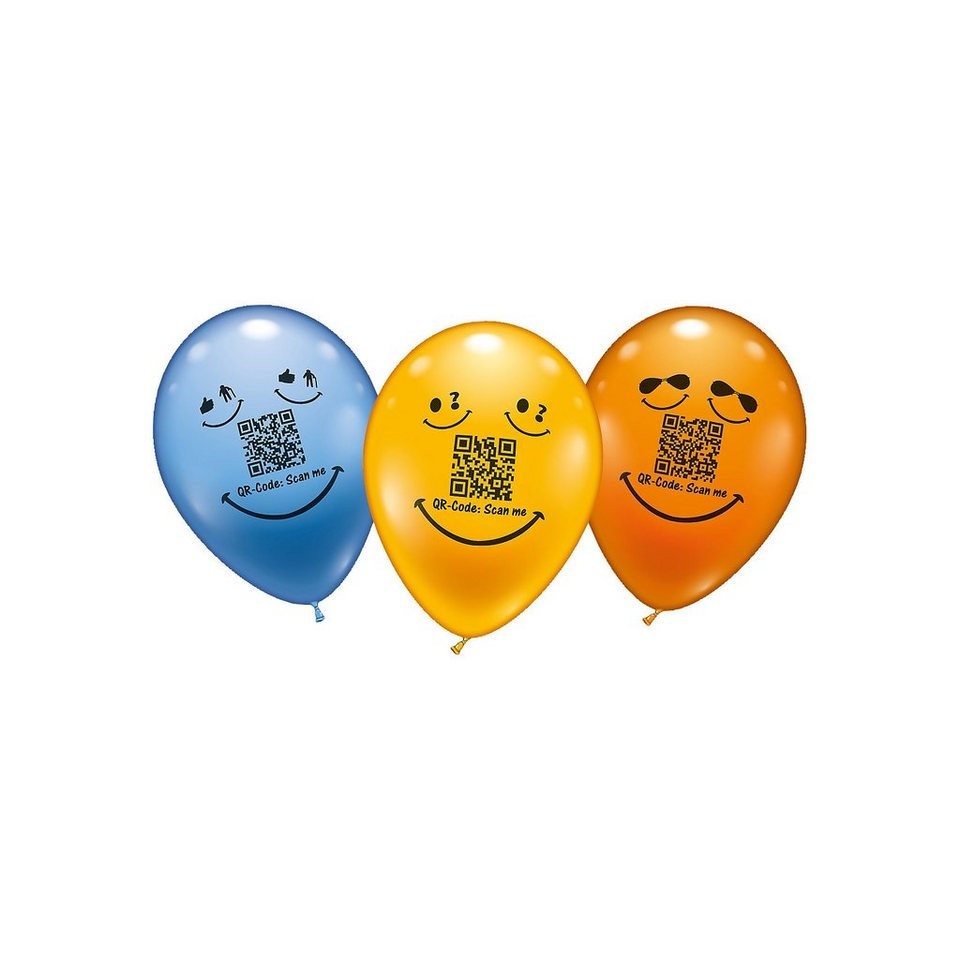 Karaloon Luftballons Secret Message, 8 Stück