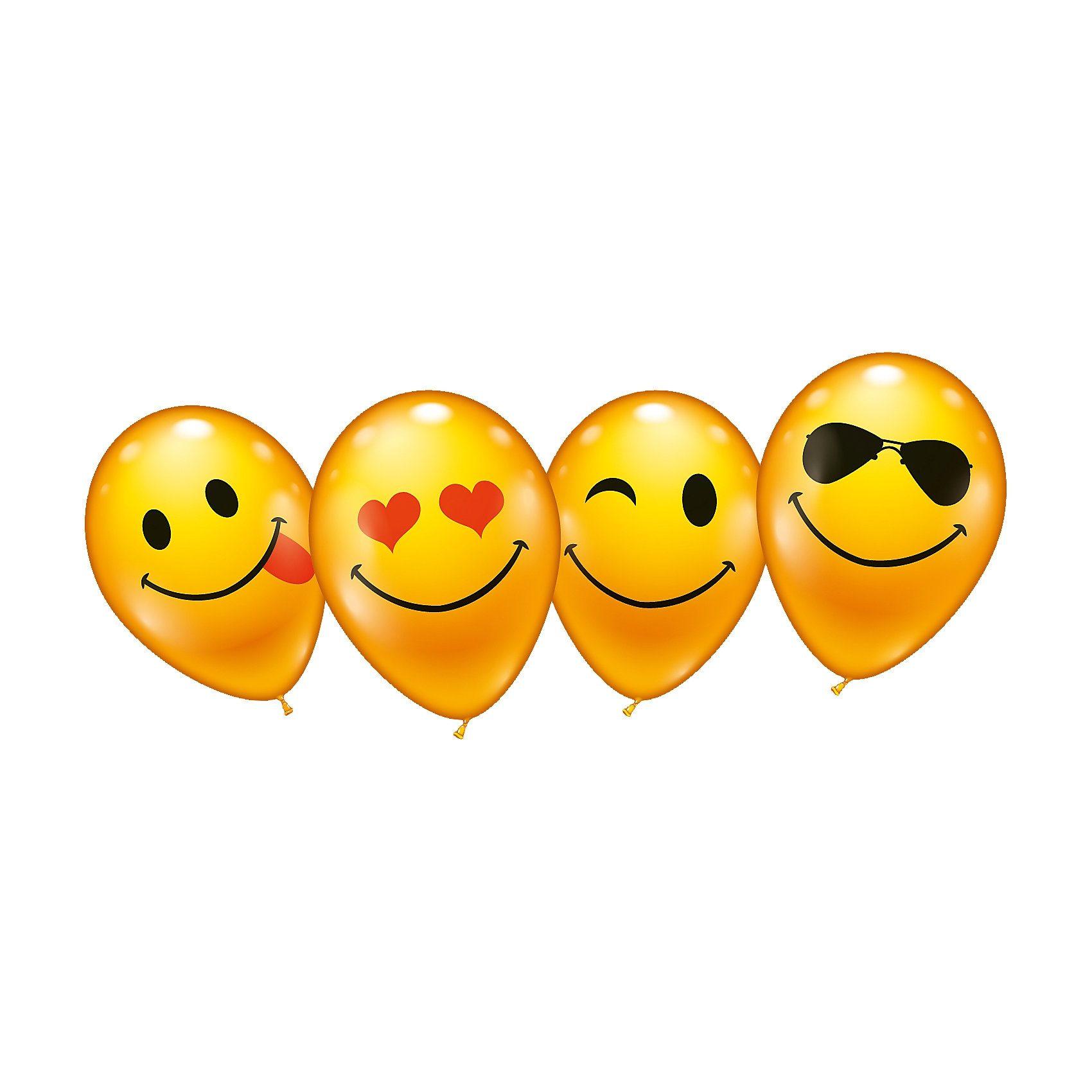 Karaloon Luftballons What´s Smile, 8 Stück