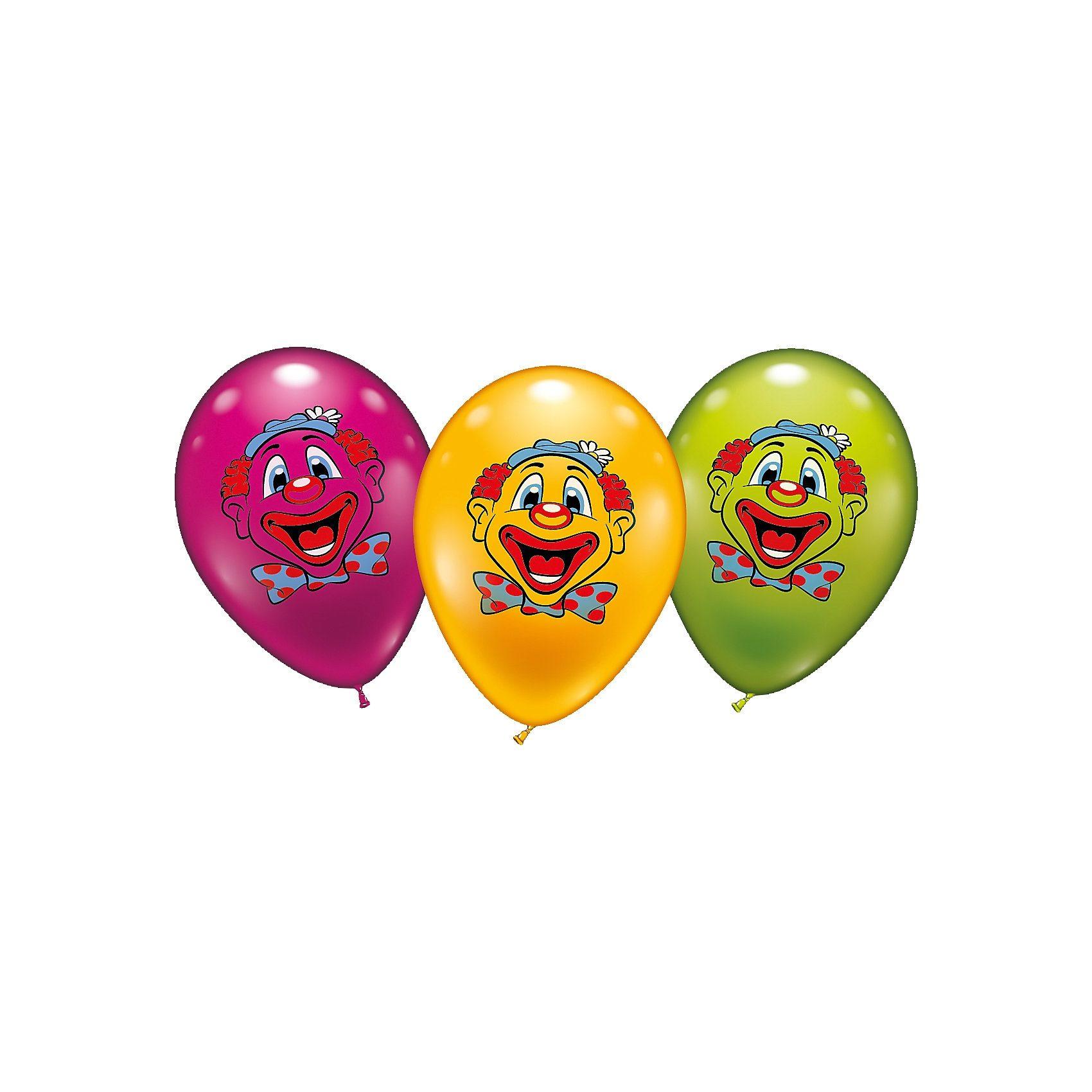 Karaloon Luftbballons Clown, 6 Stück