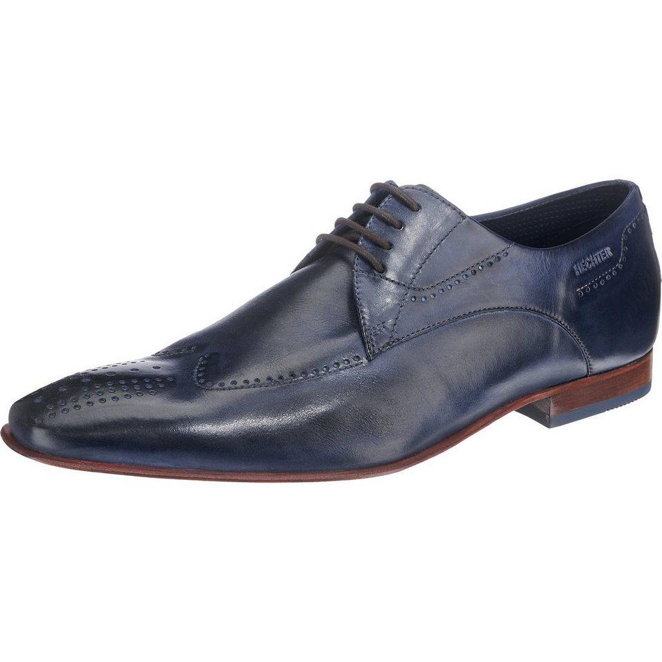 DANIEL HECHTER Business Schuhe in dunkelblau