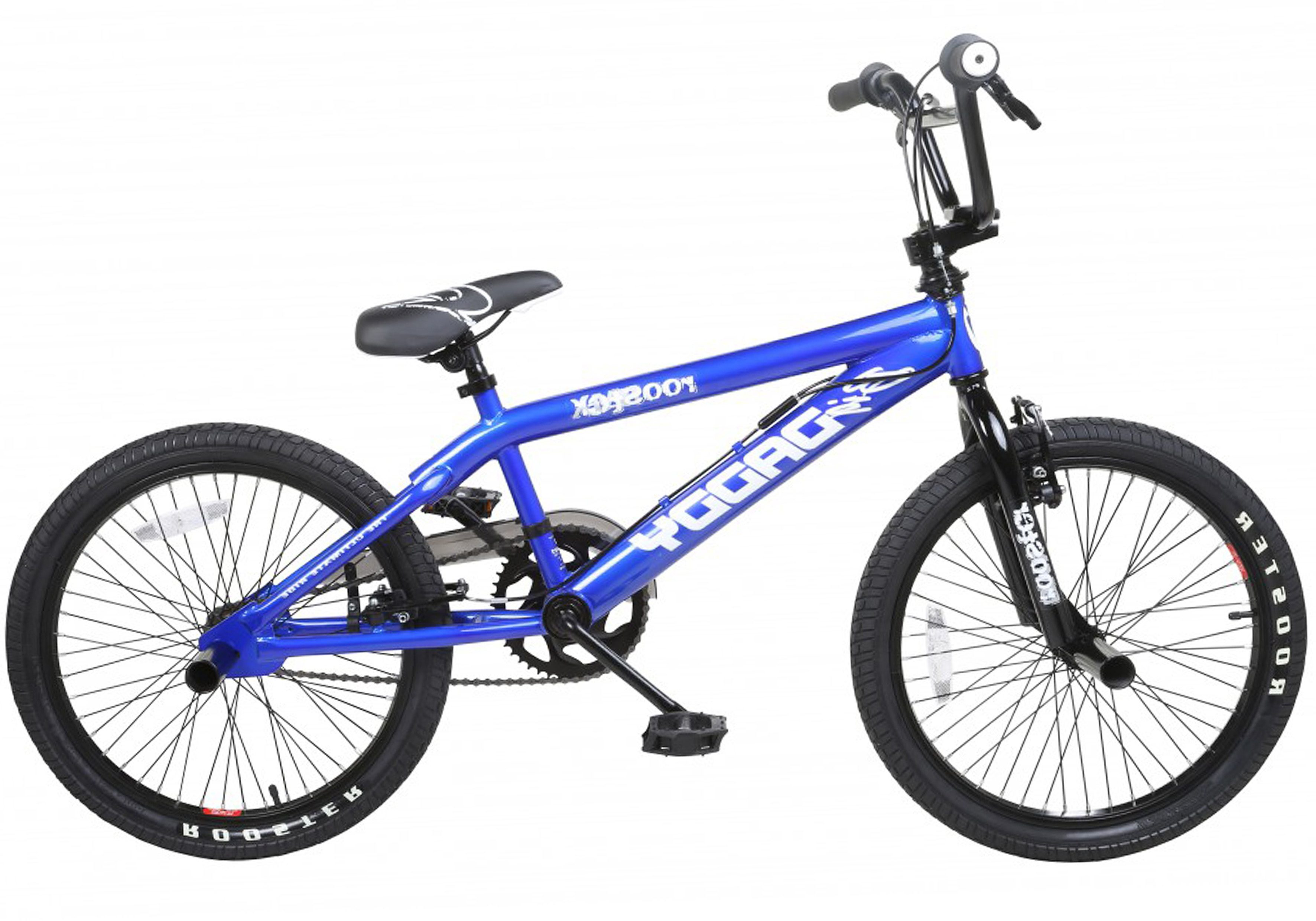 Rooster BMX, 20 Zoll, blau, V-Brakes, »Big Daddy Spoked«