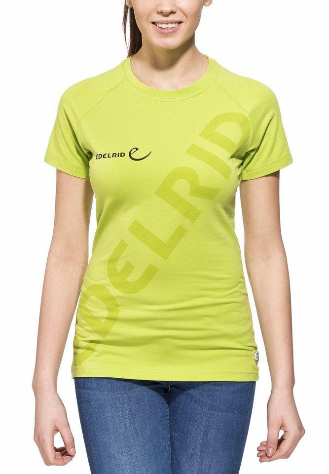 Edelrid T-Shirt »Logo T-Shirt Women« in grün