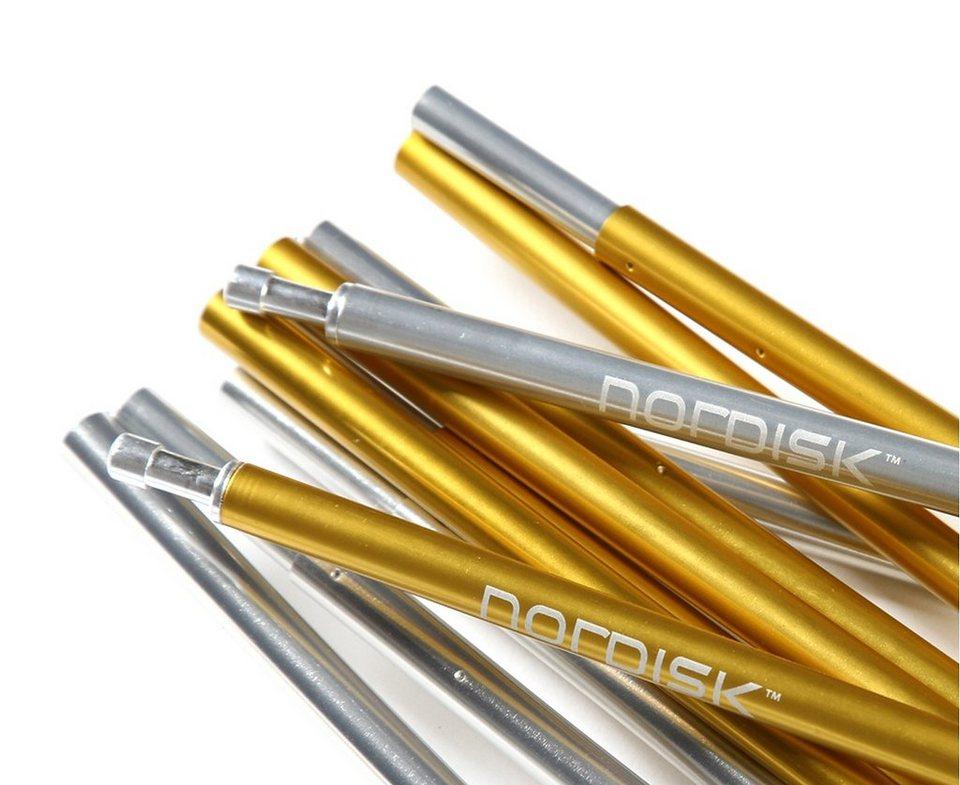 Nordisk Zelt »Telemark 2 ULW Extra Spare Poles Carbon« in schwarz