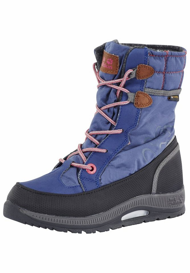 Jack Wolfskin Stiefel »Alberta High G Texapore Kids« in blau