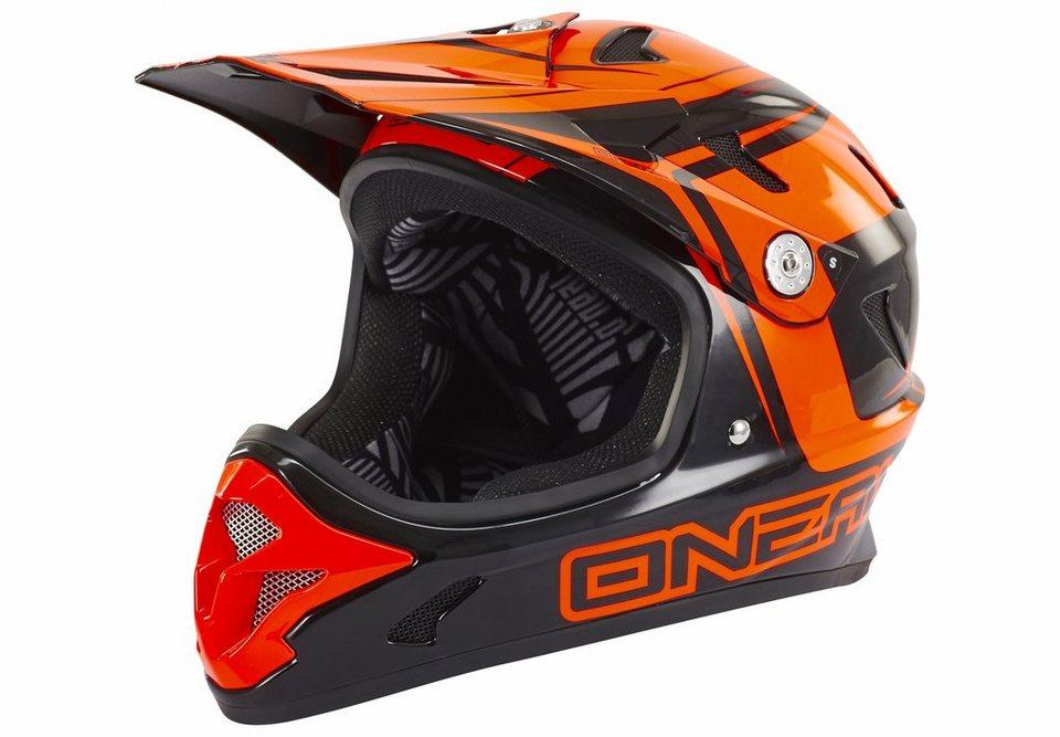 O'NEAL Fahrradhelm »Spark Fidlock Steel Helmet« in rot