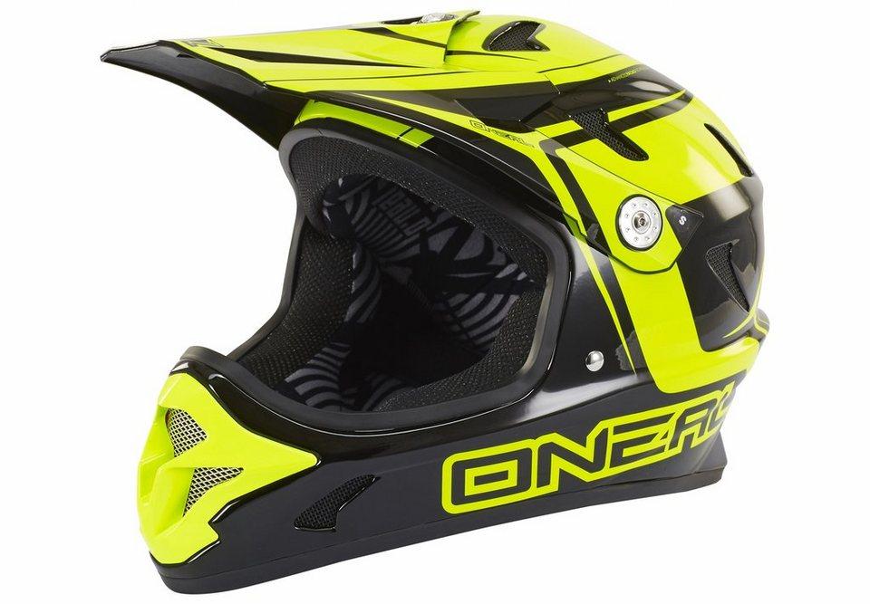 O'NEAL Fahrradhelm »Spark Fidlock Steel Helmet« in gelb
