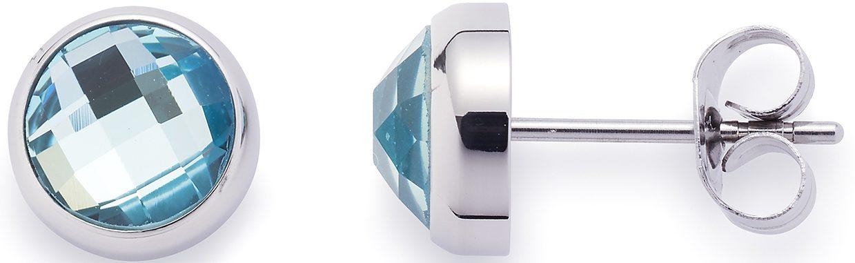 Jewels by Leonardo Paar Ohrstecker mit Glassteinen, »joy azur, 015995«