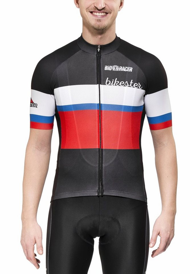 Bikester Radtrikot »Bioracer Classic Race Jersey Men« in schwarz