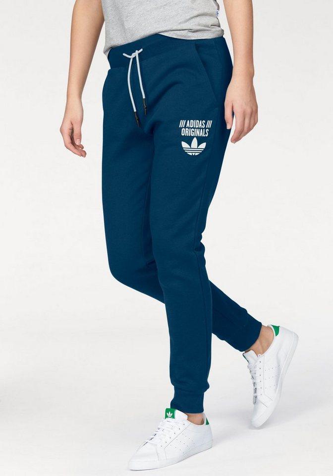 adidas Originals Jogginghose in blau