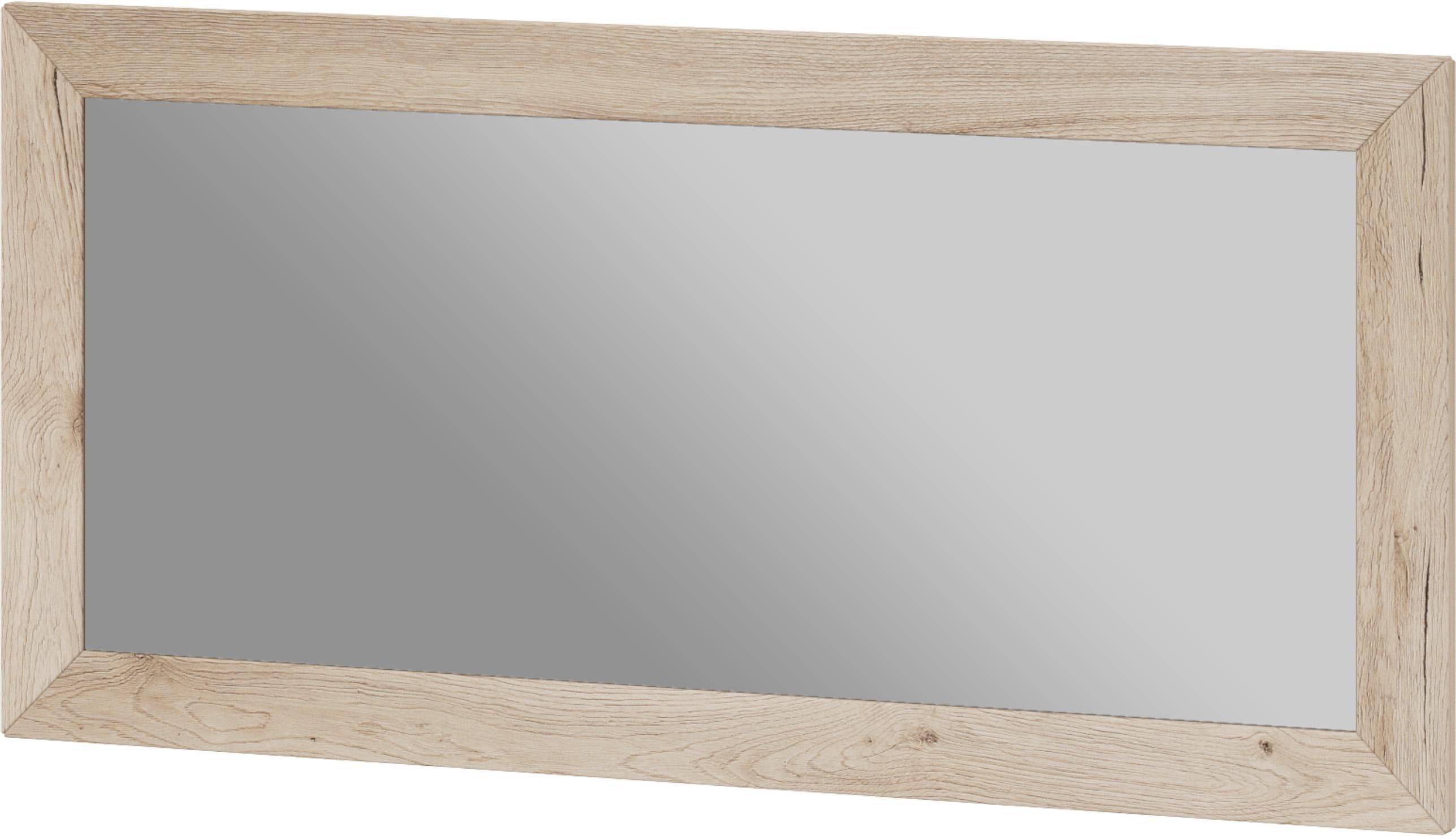 set one by Musterring Spiegel mit Rahmen »Oakland«, San Remo Sand, Breite 125 cm