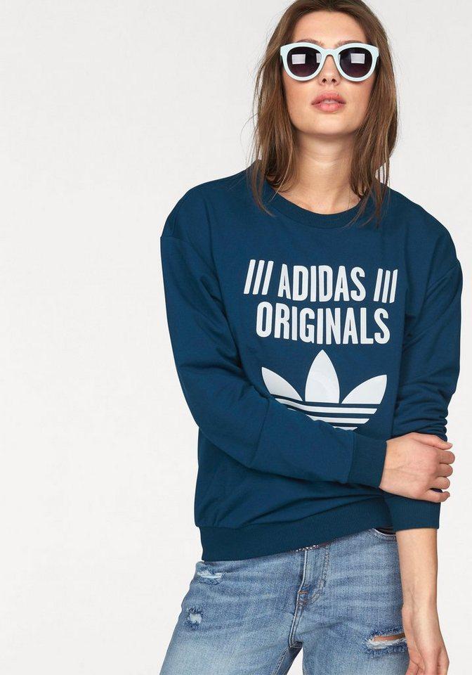 adidas Originals Sweatshirt in blau
