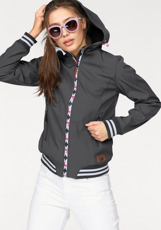 Ocean Sportswear Softshelljacke in grau