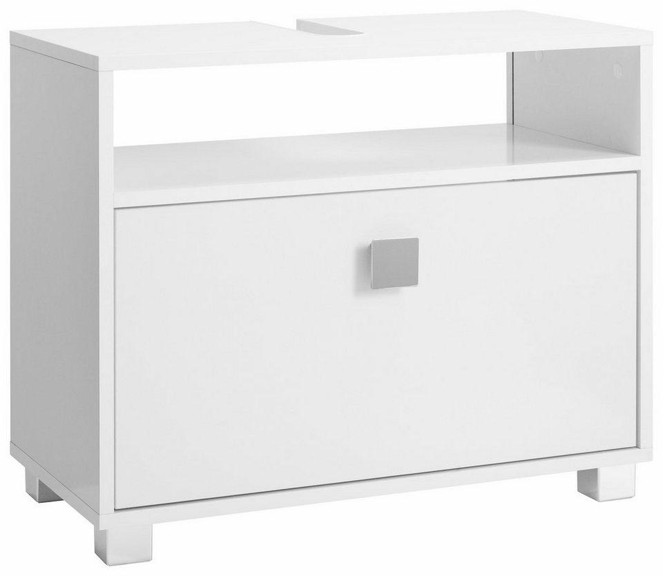 Schildmeyer Waschbeckenunterschrank »Box« in weiß