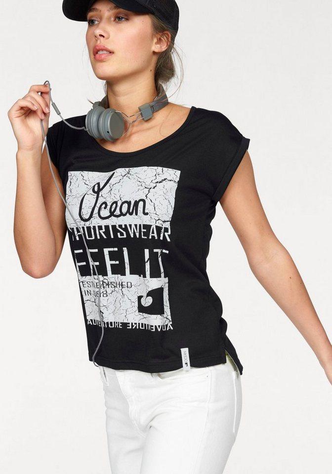 Ocean Sportswear T-Shirt in schwarz