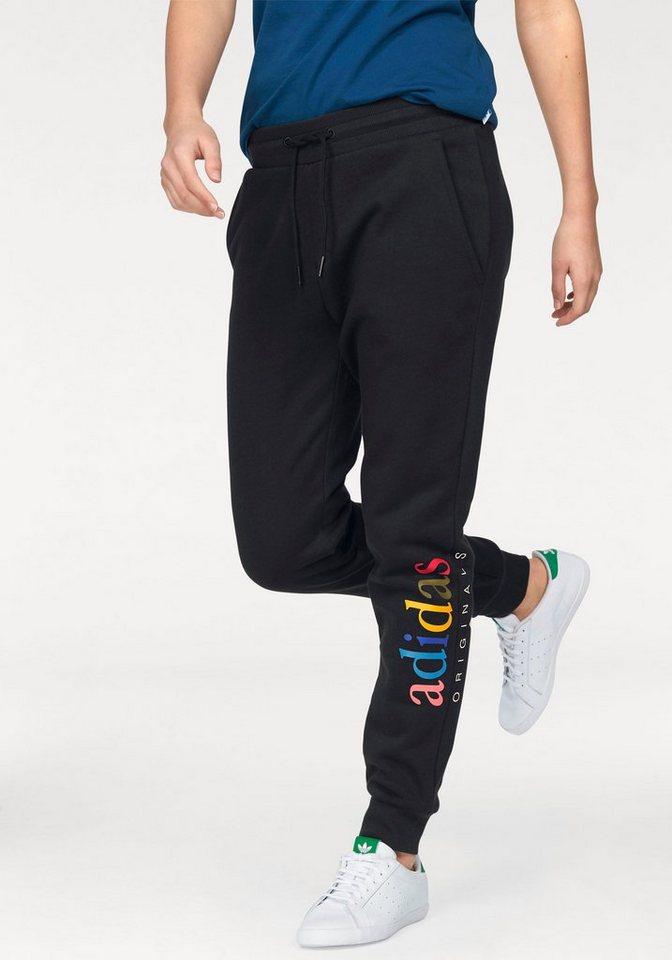 adidas originals jogginghose mit buntem drucklogo otto. Black Bedroom Furniture Sets. Home Design Ideas