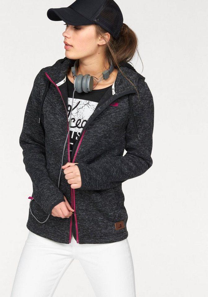 Ocean Sportswear Strickfleecejacke in grau