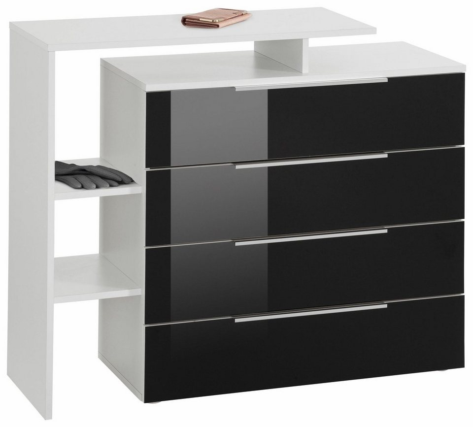 ziemlich schubladenschrank wei hochglanz fotos die. Black Bedroom Furniture Sets. Home Design Ideas