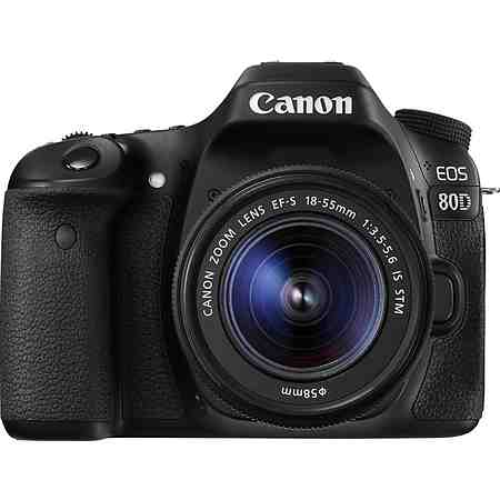 Canon EOS 80D EF-S 18-55 IS STM Spiegelreflex Kamera, Canon EF-S 18-55mm f/3.5-5.6 Zoom