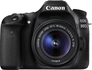 Canon »EOS 80D« Spiegelreflexkamera (Canon EF-S, 24,2 MP, WLAN (Wi-Fi), NFC)