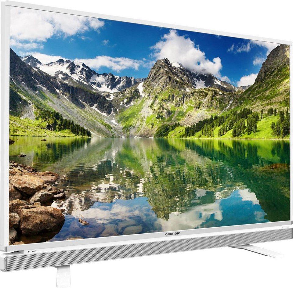 Grundig 55 GFW 6628, LED Fernseher, 139 cm (55 Zoll), 1080p (Full HD), Smart-TV in weiß