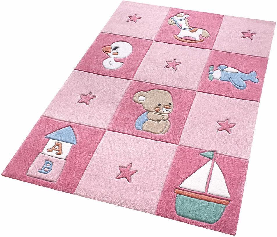 Kinderteppich rosa  Kinder-Teppich, Smart Kids, »Newborn«, handgetuftet online kaufen ...