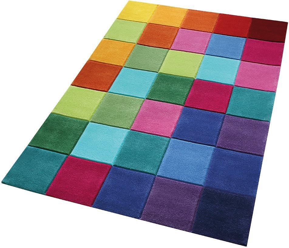 Kinder-Teppich, Smart Kids, »Smart Square«, handgetuftet in bunt