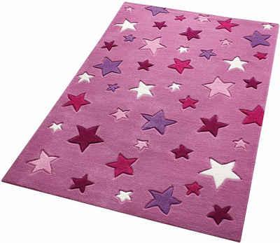Kinderteppich sterne rosa  Kinderteppich online kaufen » Kinderzimmerteppich | OTTO