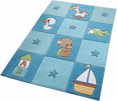 Kinderteppich blau  Kinderteppich online kaufen » Kinderzimmerteppich | OTTO