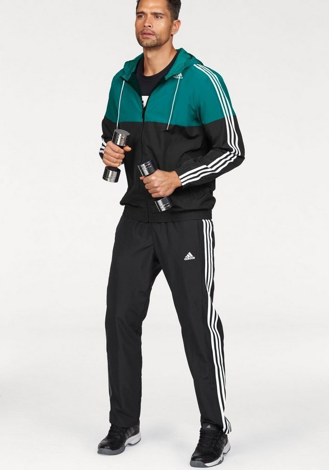 adidas performance trainingsanzug tracksuit train woven. Black Bedroom Furniture Sets. Home Design Ideas