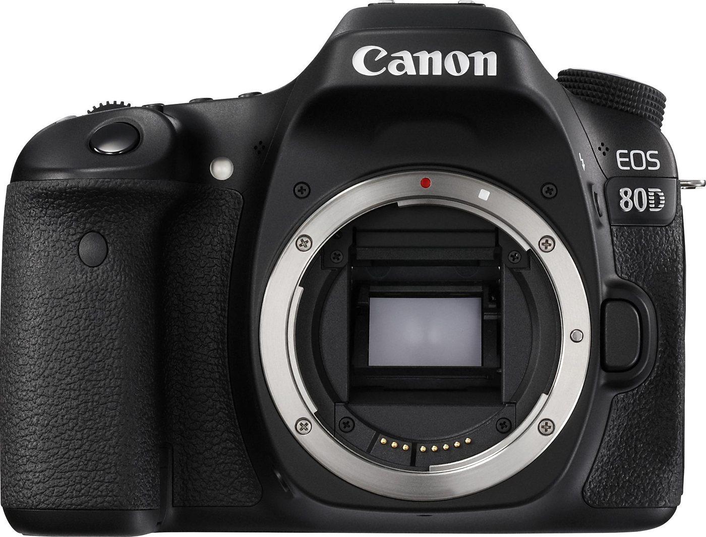 Canon EOS 80D Body Spiegelreflex Kamera, 24,2 M...