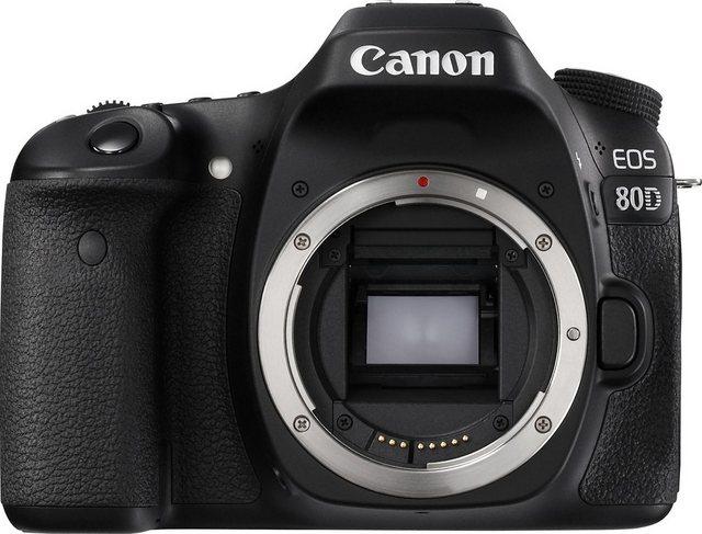 Spiegelreflexkameras - Canon EOS 80D Body Spiegelreflex Kamera, 24,2 Megapixel, 7,7 cm (3 Zoll) Display  - Onlineshop OTTO