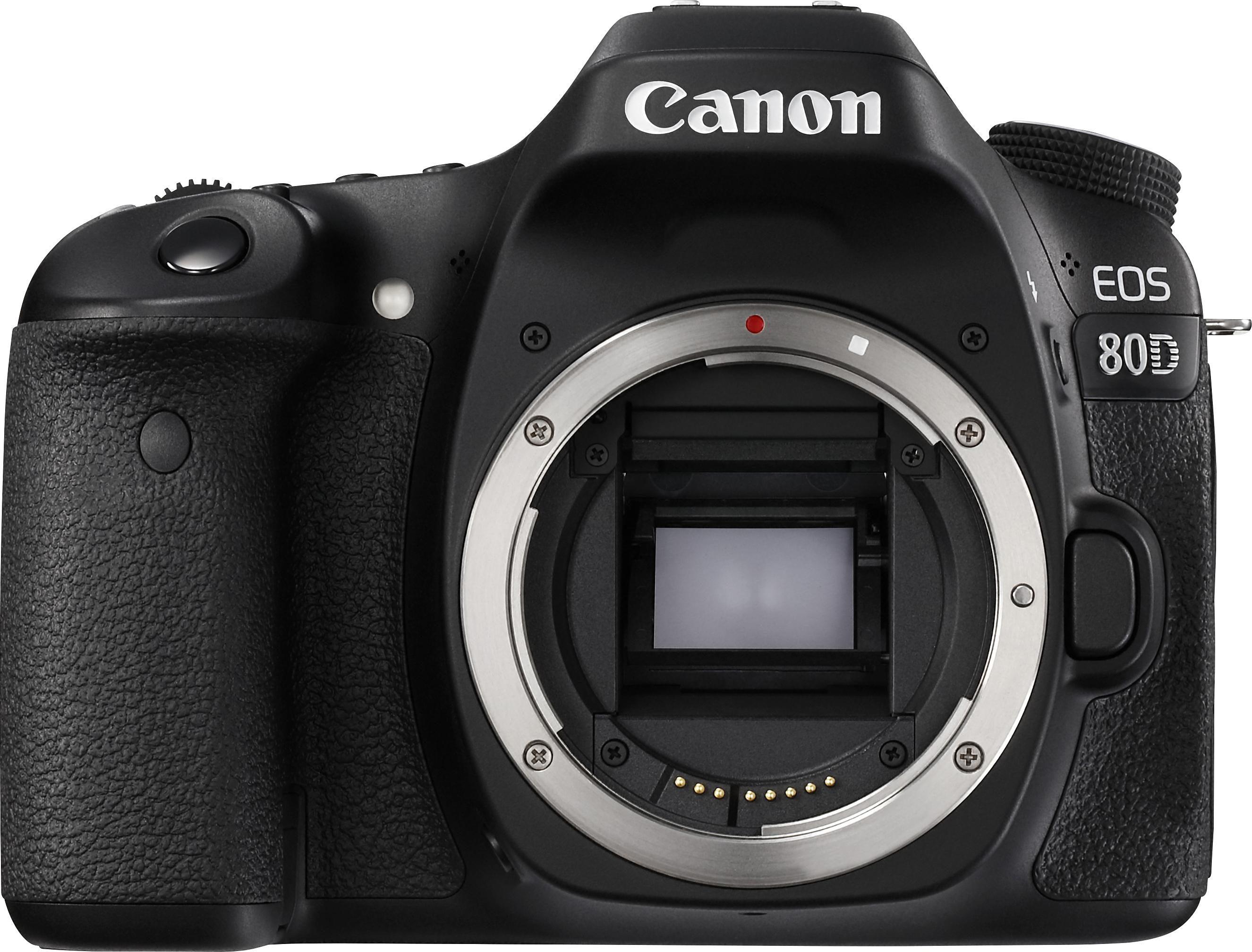 Canon EOS 80D Body Spiegelreflex Kamera, 24,2 Megapixel, 7,7 cm (3 Zoll) Display