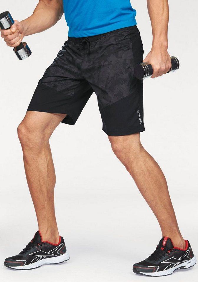 Reebok Boardshorts »Workout Ready Graphic Boardshorts« in schwarz