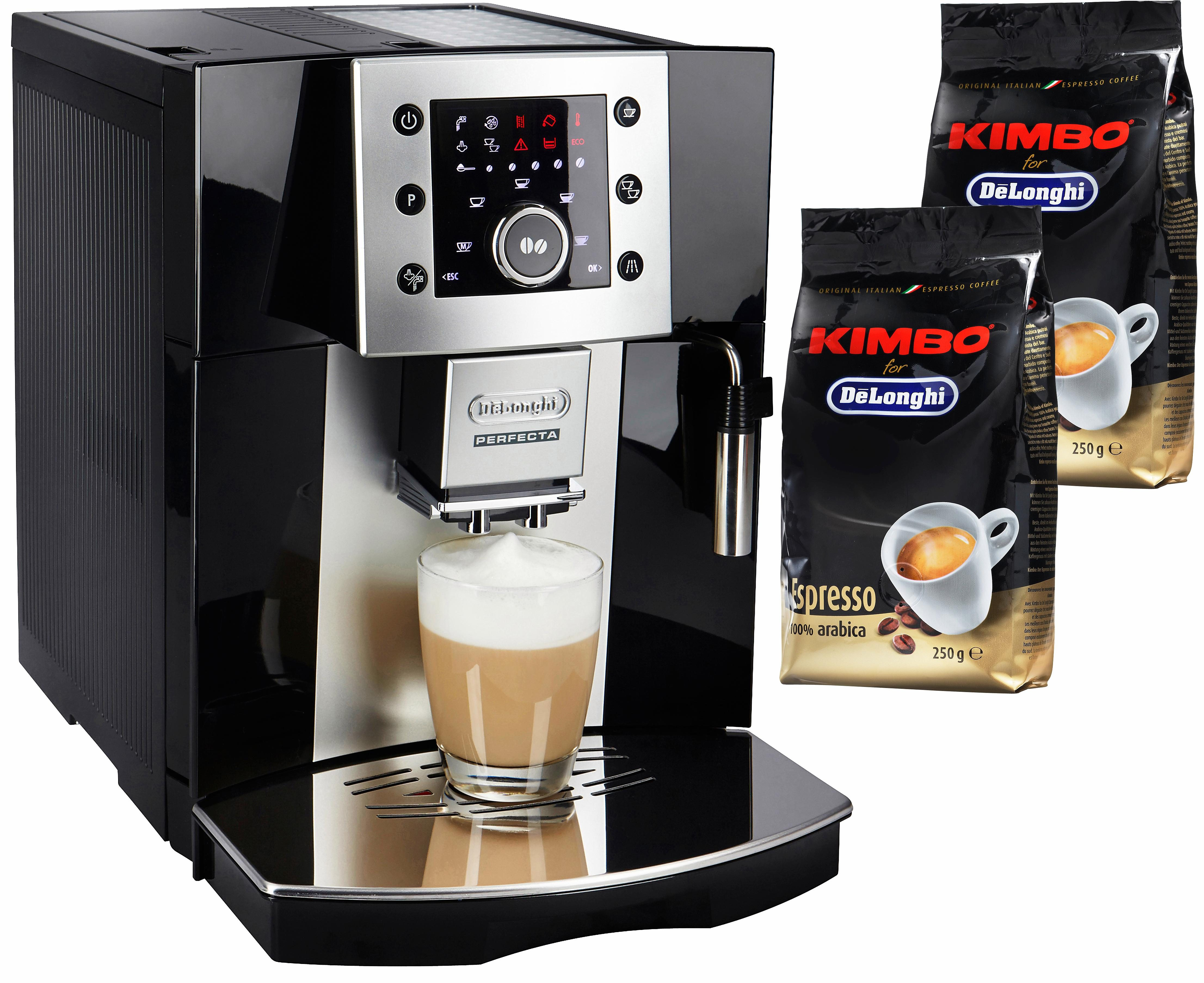 De'Longhi Kaffeevollautomat Perfecta ESAM 5400, 1,7l Tank, Kegelmahlwerk
