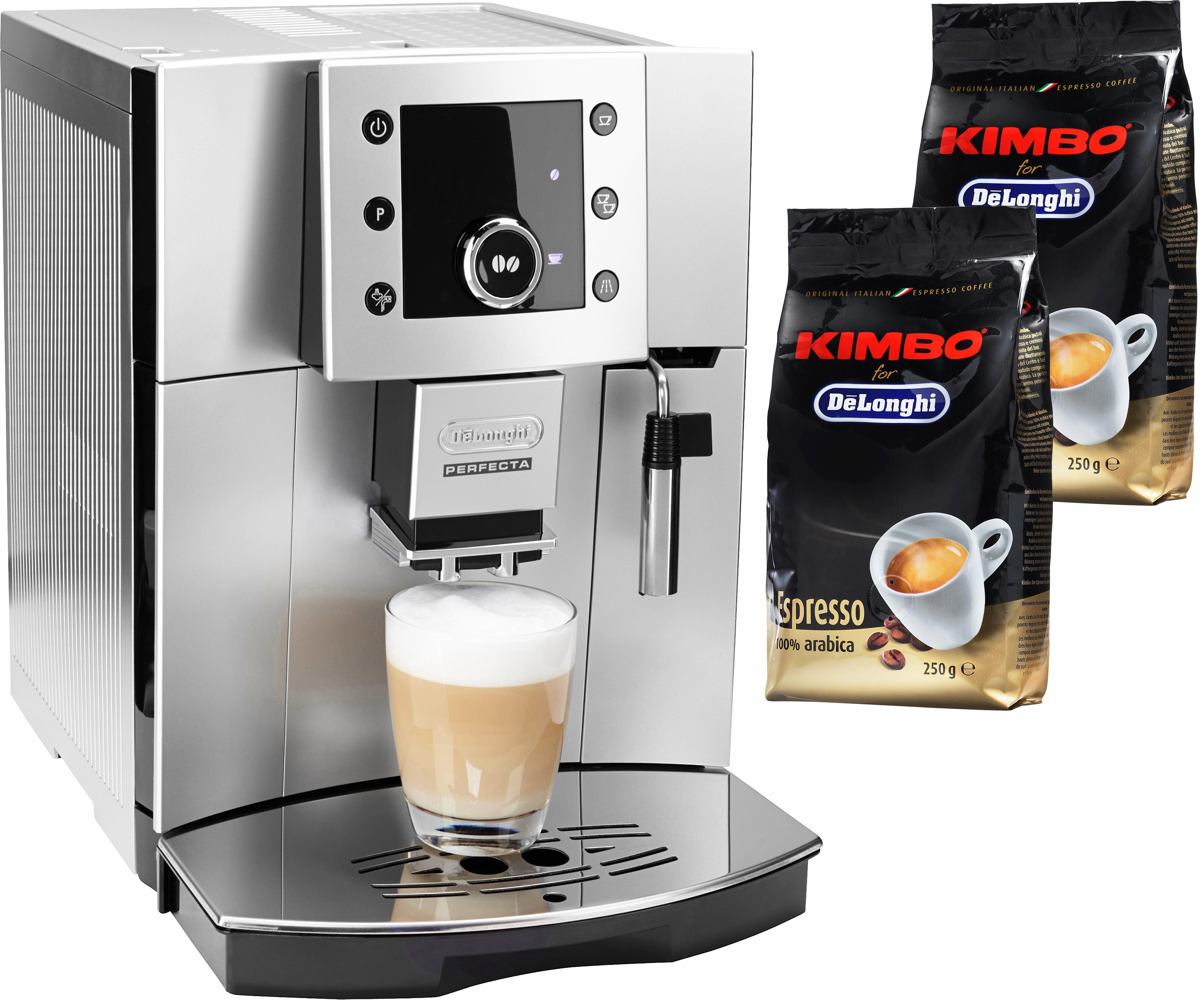 Kaffeevollautomat Perfecta ESAM 5400.S, leises Kegelmahlwerk