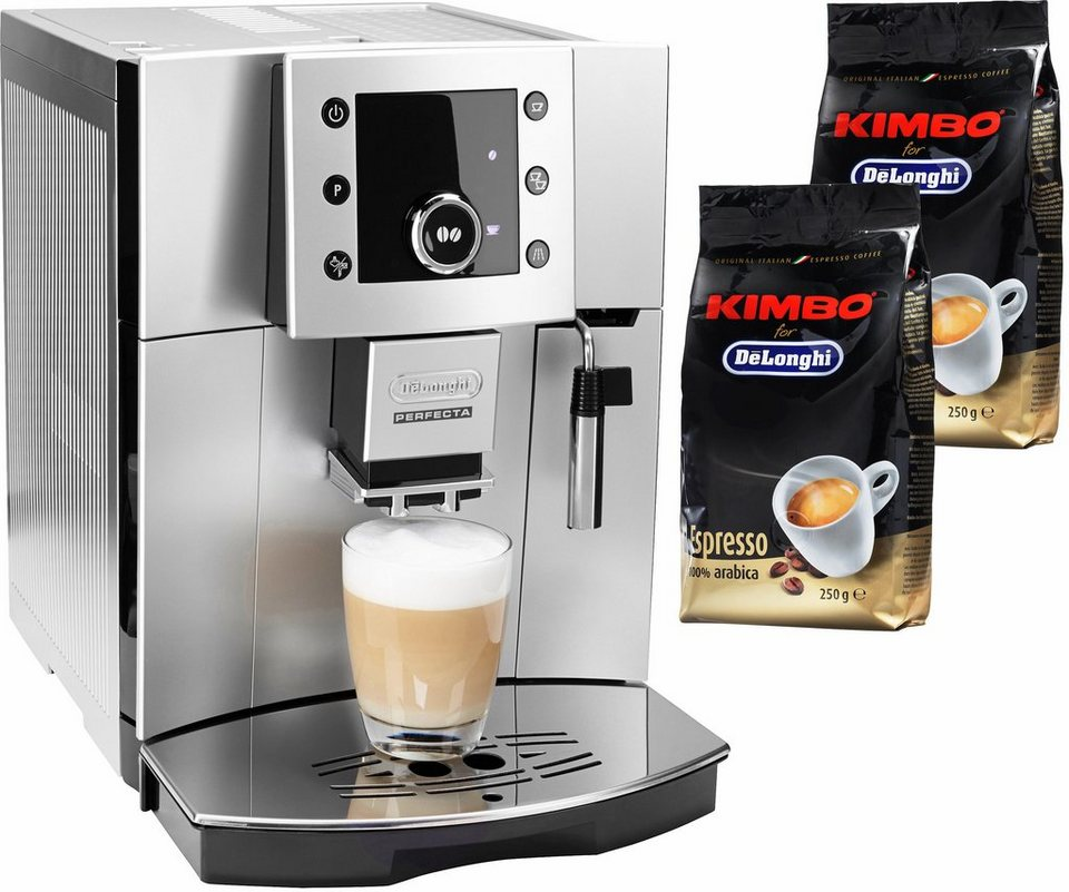 de 39 longhi kaffeevollautomat perfecta esam 5400 s leises kegelmahlwerk online kaufen otto. Black Bedroom Furniture Sets. Home Design Ideas