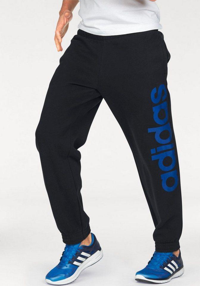 adidas performance jogginghose essentials linear pant. Black Bedroom Furniture Sets. Home Design Ideas