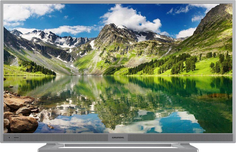 Grundig 28 GHS 5600, LED Fernseher, 70 cm (28 Zoll), WUXGA 1366 x 768 in silberfarben