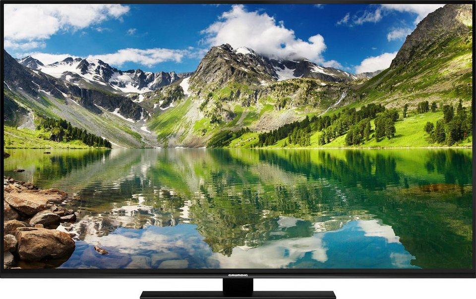 Grundig 55 GUB 9688, LED Fernseher, 139 cm (55 Zoll), 2160p (4K Ultra HD), Smart-TV in schwarz