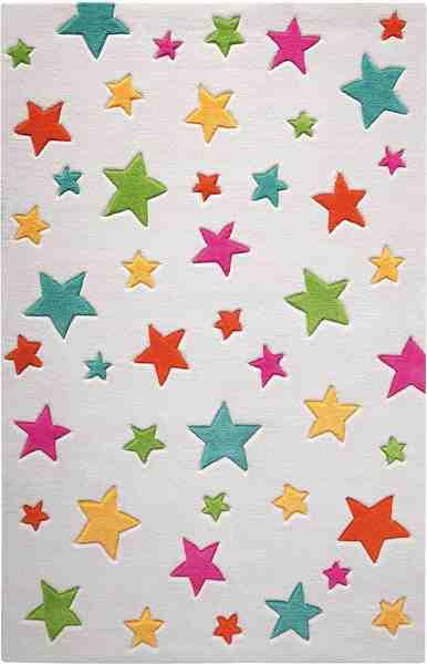 Kinderteppich »Simple Stars«, SMART KIDS, rechteckig, Höhe 10 mm