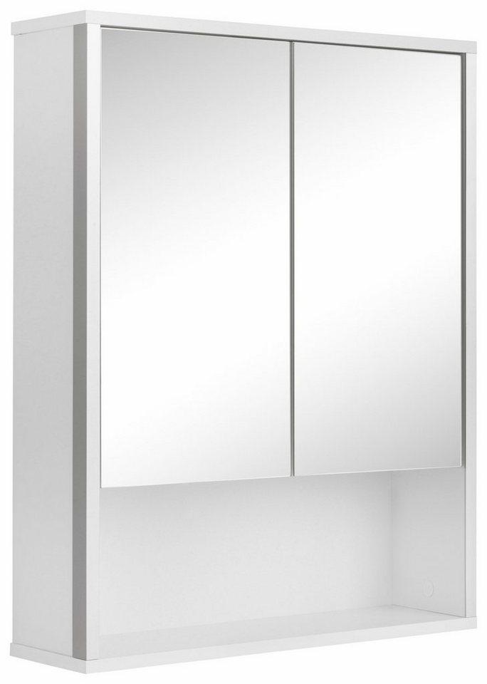 welltime Spiegelschrank »Tristo« in weiß