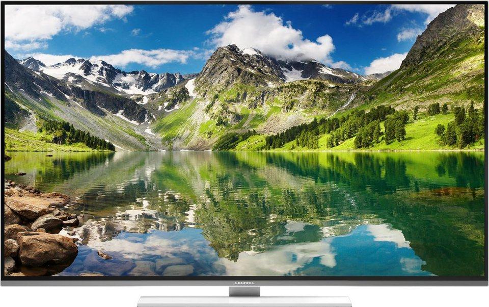 Grundig 55 GUW 8678, LED Fernseher, 139 cm (55 Zoll), 2160p (4K Ultra HD), Smart-TV in weiß