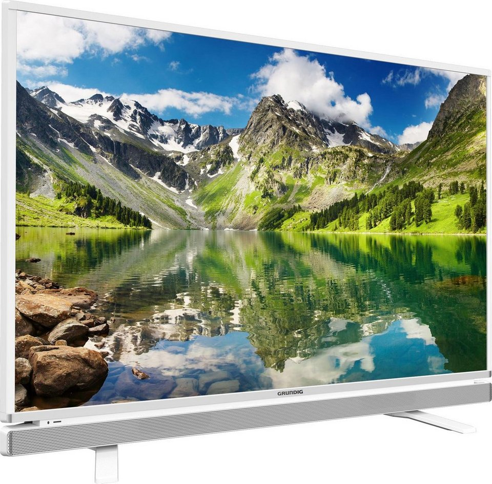 Grundig 49 GFW 6628, LED Fernseher, 123 cm (49 Zoll), 1080p (Full HD), Smart-TV in weiß