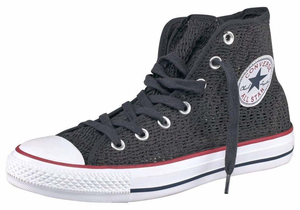 Converse »Chuck Taylor All Star Crochet« Sneaker in anthrazit