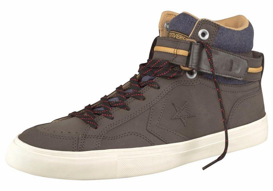 Converse »Cons Pro Blaze Plus« Sneaker in olivgrün