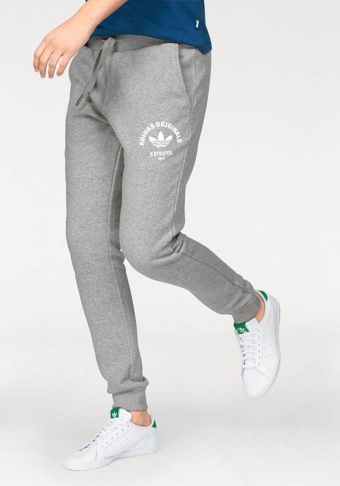 adidas Originals Jogginghose in grau-meliert