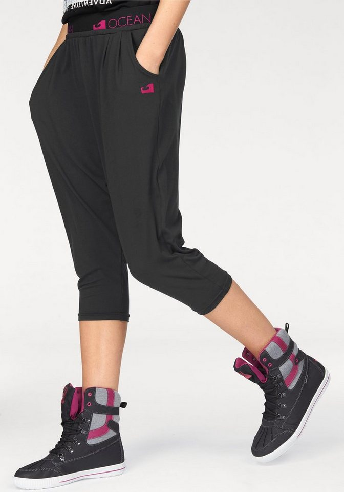 Ocean Sportswear 3/4-Hose in schwarz