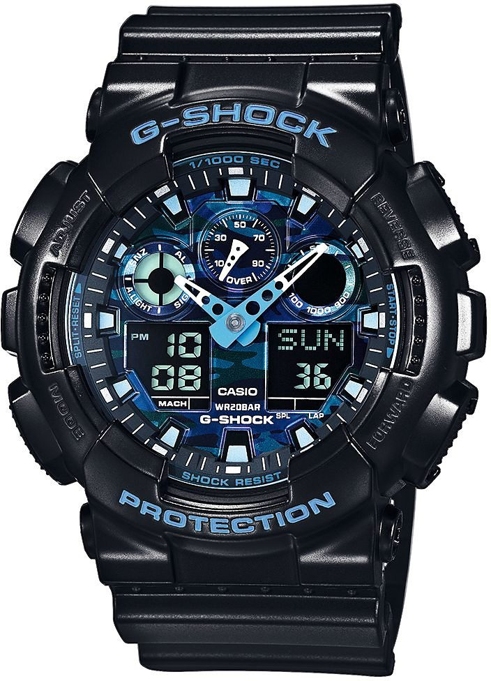 Casio G-Shock Chronograph »GA-100CB-1AER«