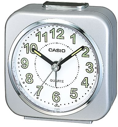 Casio Wecker, »TQ-143S-8EF« in silberfarben